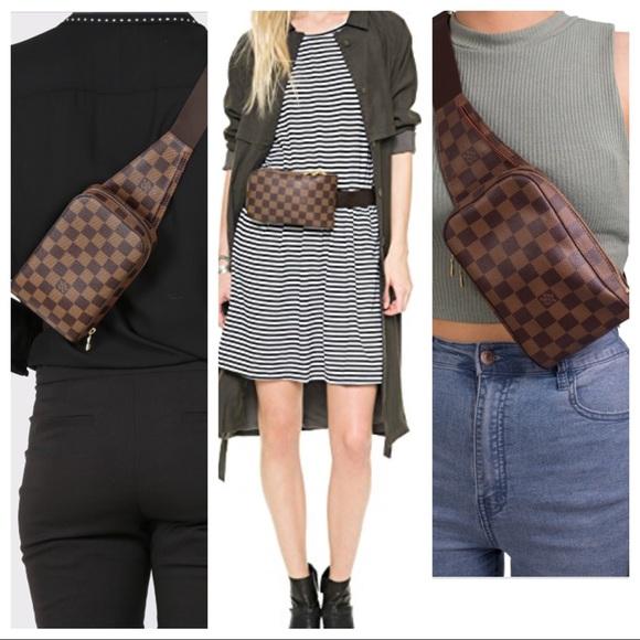 78b639c8d73e Louis Vuitton Handbags - 💯LV Damier Ebene Geronimos Body Waist Bum Bag